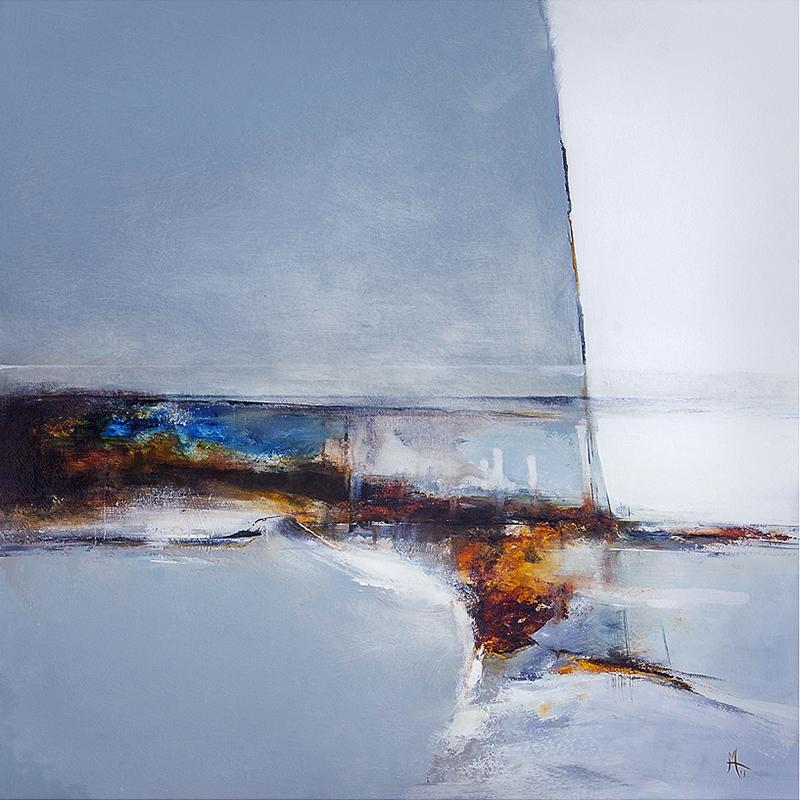 Larnog Storm - Oil on Board 61cms x 61cms